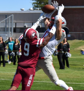 Devante Thomas from Chadron State was a standout at WKU before transferring down