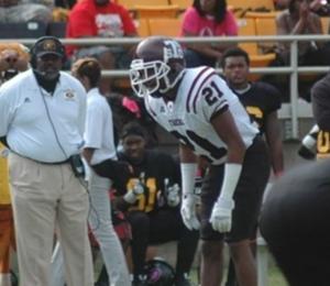 Texas Southern CB Demetrius Johnson is physical and plays a lot like former TSU grad Tray Walker