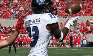 Tyree Stone-Davis is a big cornerback that NFL teams will fall in love