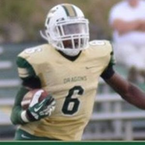 Stefan Willis the cornerback from Tiffin University is a dog
