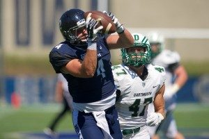 Matt Buckman the tight end from Georgetown can play both TE and HBack in the NFL