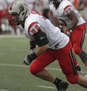 Brian Khoury of Carnegie Mellon University has the size and the speed off the edge to earn a shot in the NFL