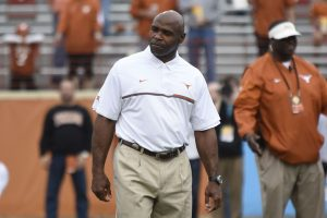 Charlie Strong is out as the Texas head coach