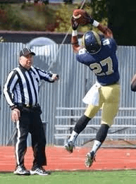 C.J. Davis of Shepherd is a speedster who will take the top off a defense.