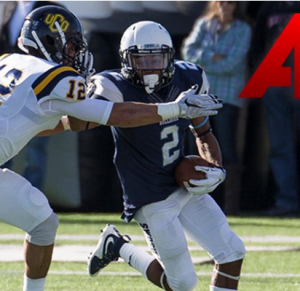 Daniel Jones of SWOSU is a playmaker. The Oakland native is a speedster