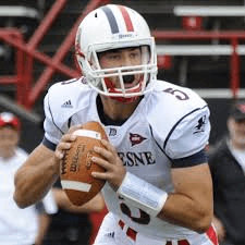 Dillon Buechel is a monster at the QB position. He has been dominating for years at Duquesne
