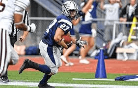 UNH running back Dalton Crossan is a scoring machine
