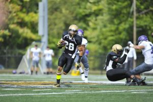 Daquan Holmes is a playmaker for AIC. I love this kids game