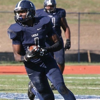 Darius Hicks from Lincoln University can cause secondaries problems