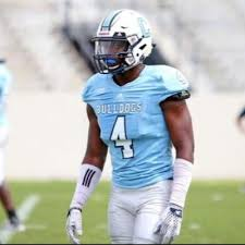 Citadel defensive back Dee Delaney is a big boy who plays the CB position like a wide out. He has great hands