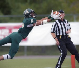 Husson wide out Deon Wiggins is a big time playmaker