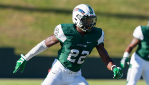 Glenn Adesoji of Stetson is a big time playmaker for the Hatters