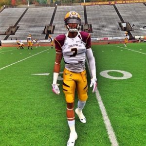 Joey Augustin of Charleston is a big time play maker. He has the size NFL teams love