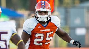 Marquis Smith of Savannah State is a playmaker. NFL teams will drool over him