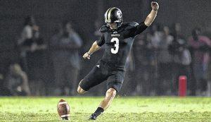 Matt Davis of UNC Pembroke may have the biggest leg in the NCAA