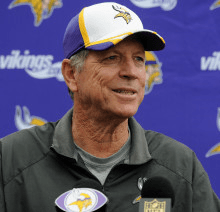 Norv Turner says he was holding the Vikings back