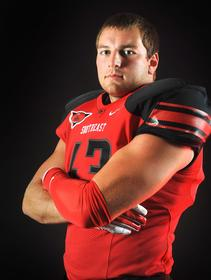 Roper Garrett is an animal for SEMO.  He is all over the field