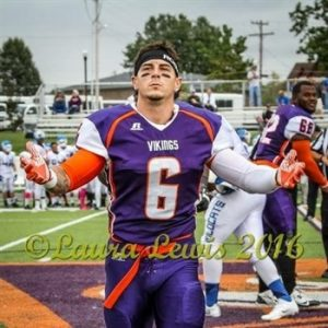 Stephen Thayer of Missouri Valley College is a hard hitter with a motor that cannot be taught