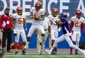 Desmond Reece of Tuskegee is a playmaker, who can expose a defense
