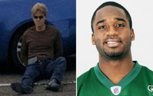 The man on the left is the person responsible for the death of former Jets RB Joe McKnight