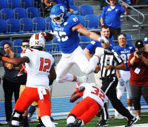 Eric Saubert is a top tight end prospect in the 2017 NFL Draft. Teams will love this kid
