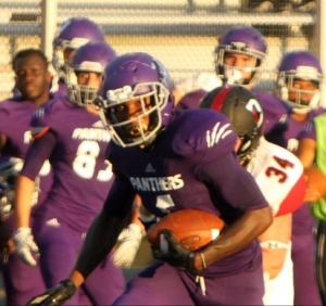Travion Tucker of Kentucky Wesleyan is a big kid with great hands