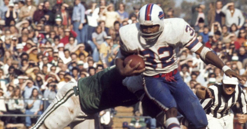 1a3635fc68a Buffalo Bills have give out number 32 to a player