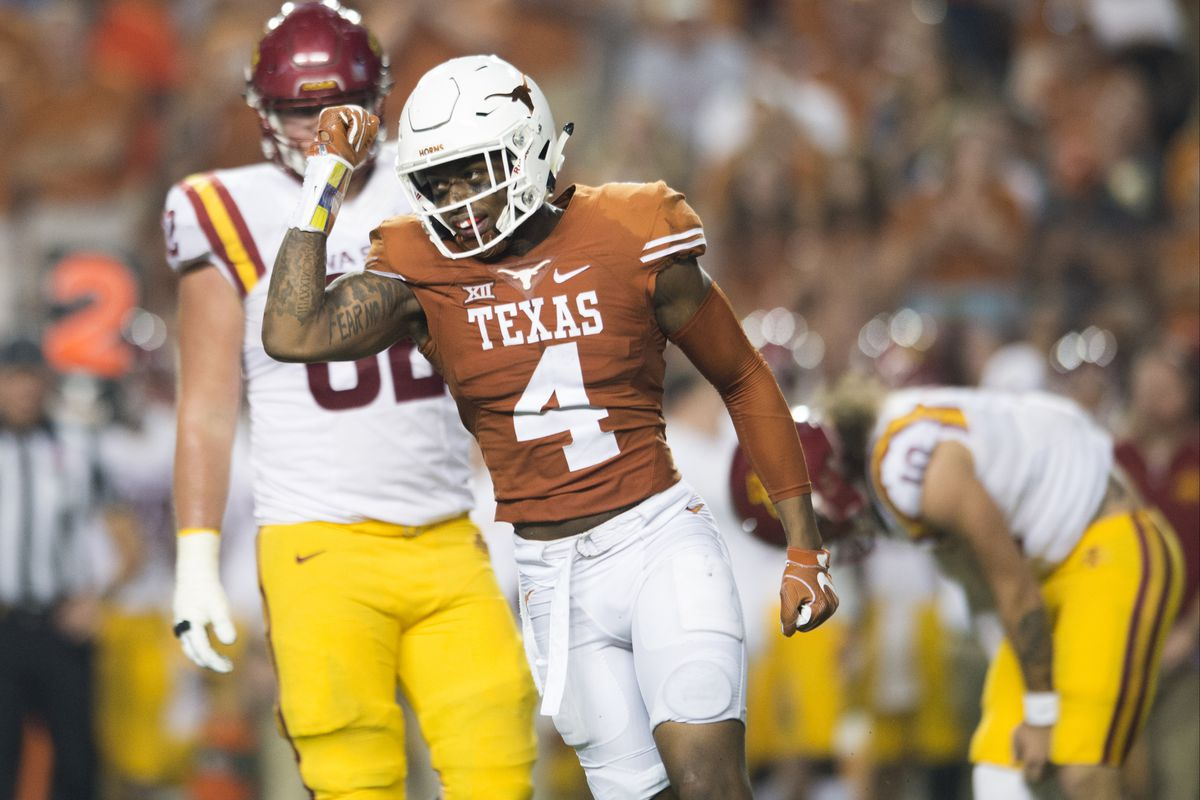 Nfl Draft Diamonds Scouting Report Deshon Elliott Db Texas