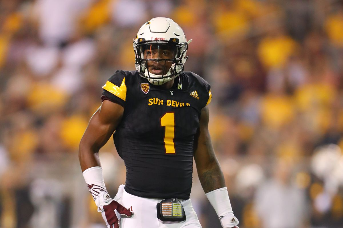 Future Nfl Draft Propsect N Keal Harry Wr Arizona State