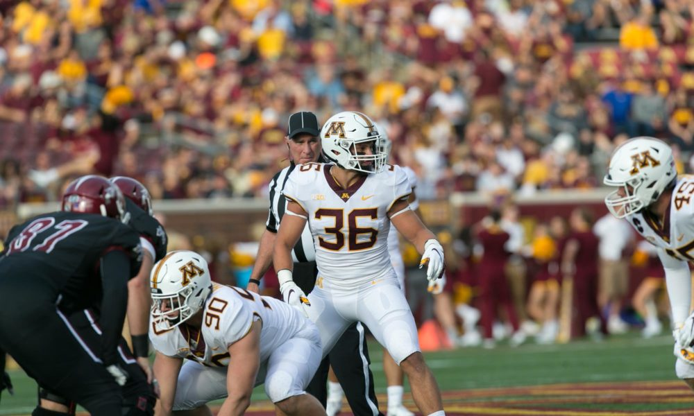 Nfl Draft Diamonds Prospect Interview Blake Cashman Lb