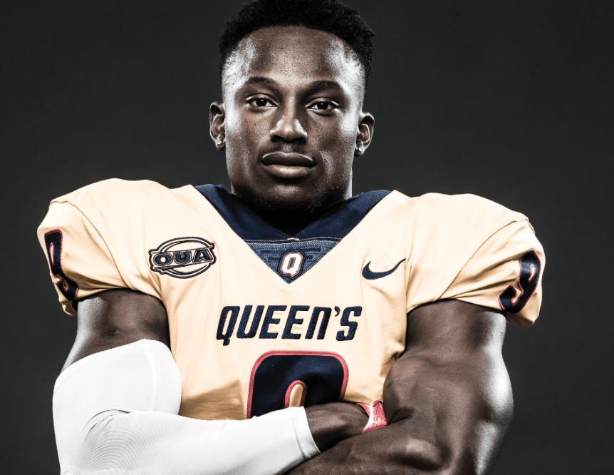 Meet NFL Draft Prospect Chris Osei-Kusi, WR, Queen's University