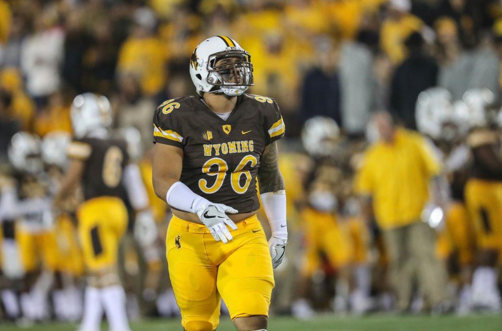 the best attitude 03dfd 2e3ab Meet NFL Draft Prospect Sidney Malauulu, DT, University of ...