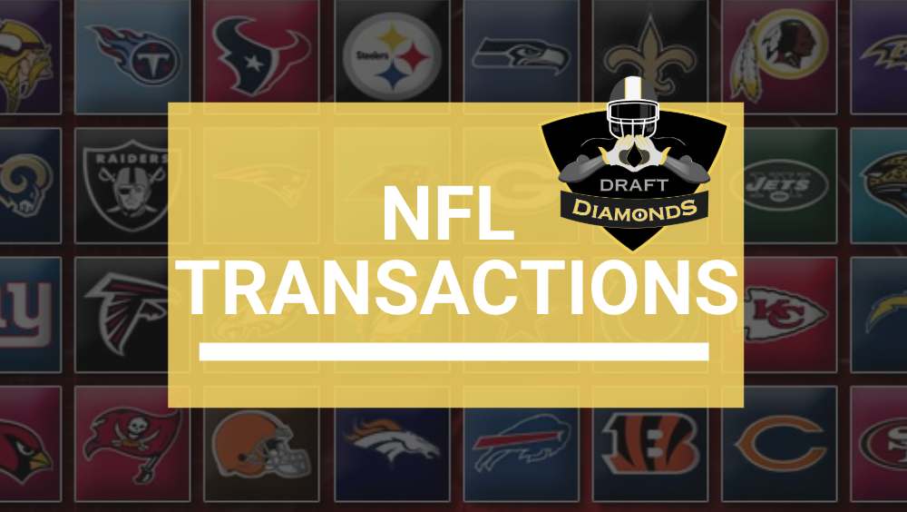 NFL Transactions, Daily Workouts, Signings and Roster Cuts ...