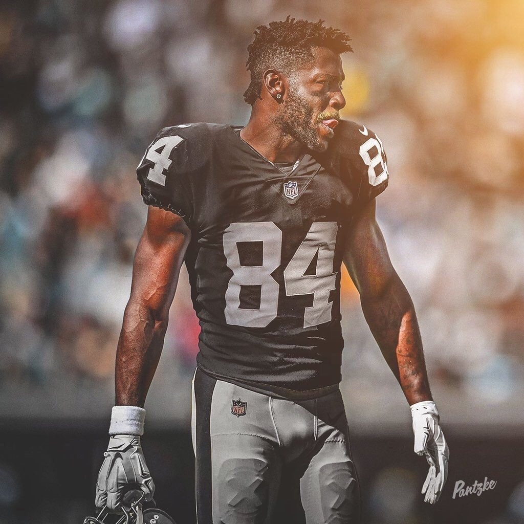 new style 89784 82de6 Raiders trade a 3rd and 5th Round Pick to land WR Antonio Brown