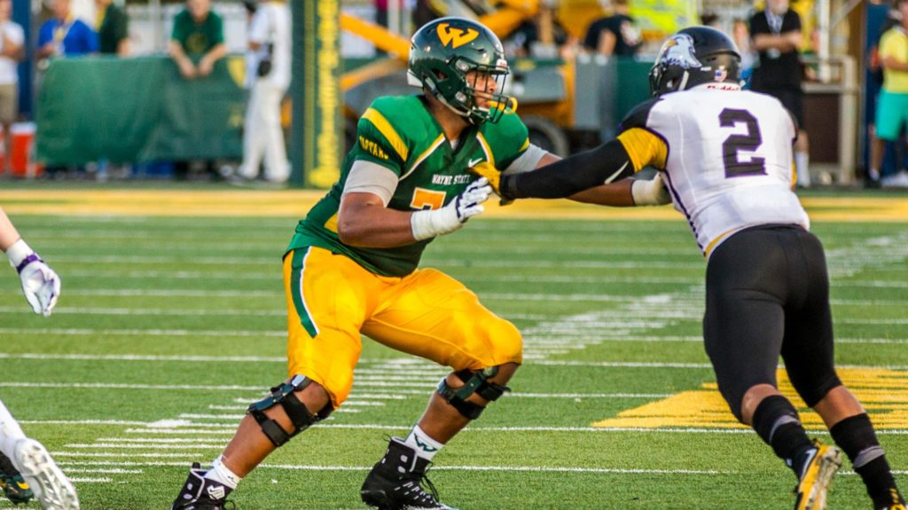 Meet NFL Draft Prospect Israel Helms, OT, Wayne State University