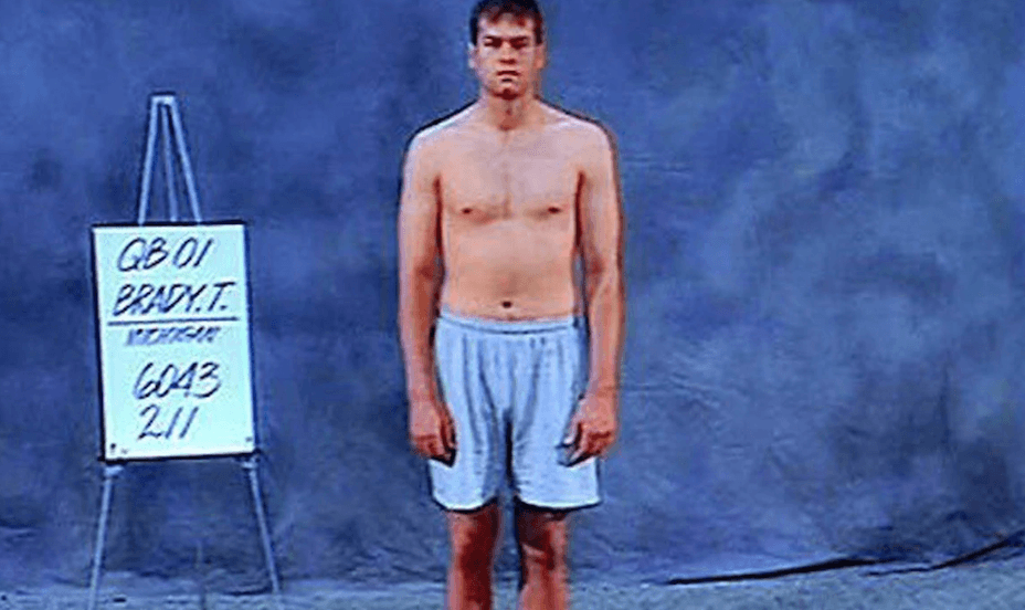 Tom Brady runs a 5 17 forty at the age of 41, faster than