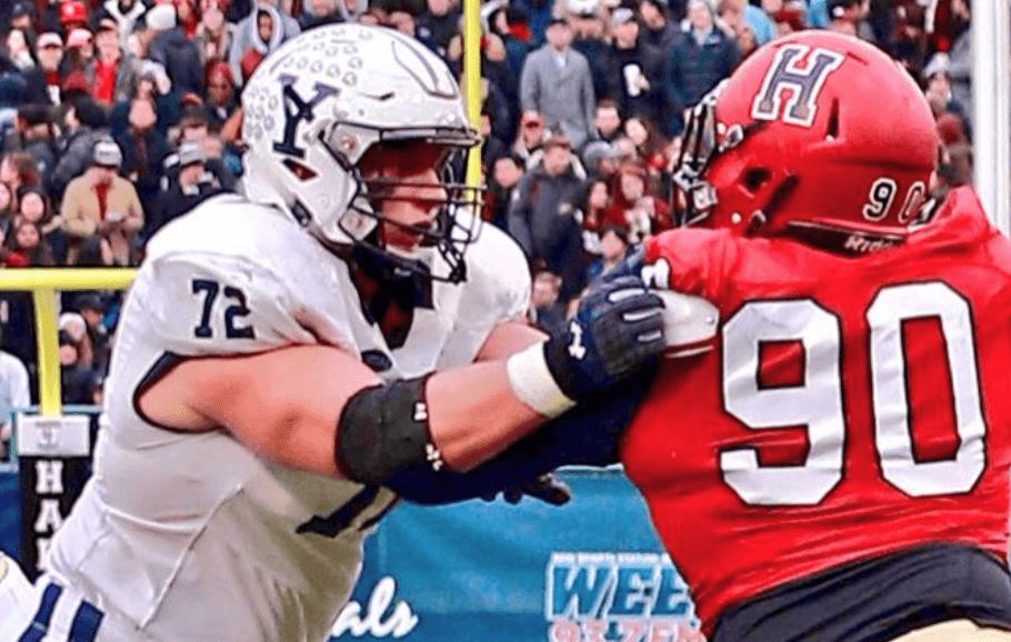 Best Offensive Lines In Nfl 2020.Meet 2020 Nfl Draft Prospect Dieter Eiselen Ol Yale