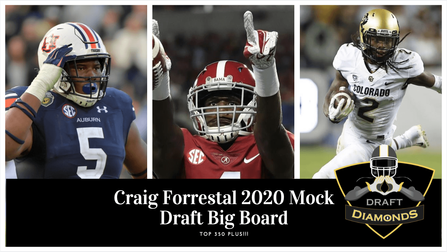 2020 Nfl Mock Draft Big Board By Craig Forrestal Of Draft