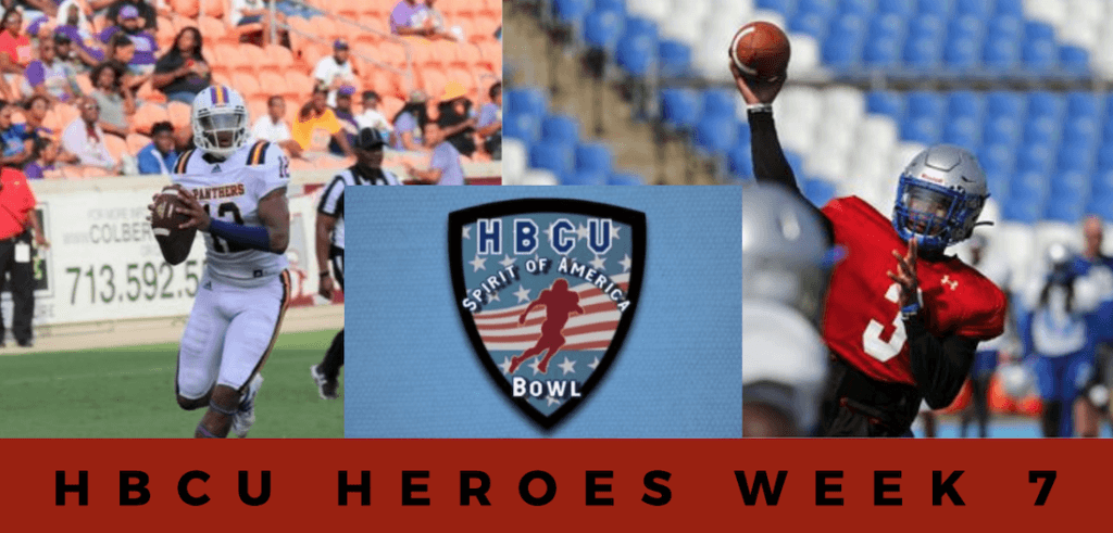 HBCU Heroes: Week 7 standouts who caught the eye of the HBCU Spirit of America Bowl