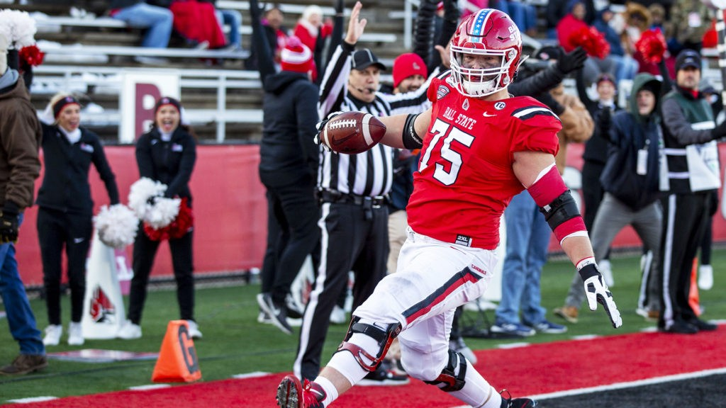 Danny Pinter Ball state drafted