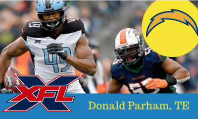 Donald Parham Chargers