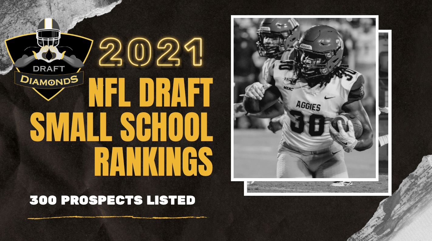 2021 NFL Draft Small School Rankings 1.0 with 300 prospects