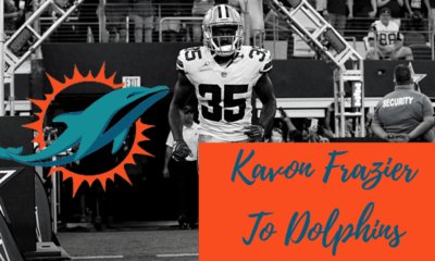 Kavon Frazier signs with Miami Dolphins