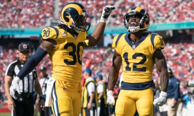 Todd Gurley and Brandin Cooks
