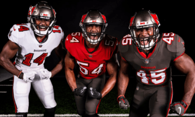 Buccaneers new uniforms