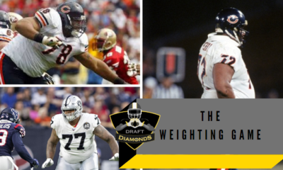 Who are the heaviest players in the NFL?