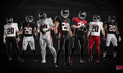 Falcons new uniforms