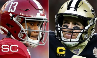 Tua and Drew Brees