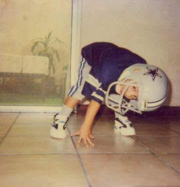 Gabriel Ballinas y Perez Cowboys fan