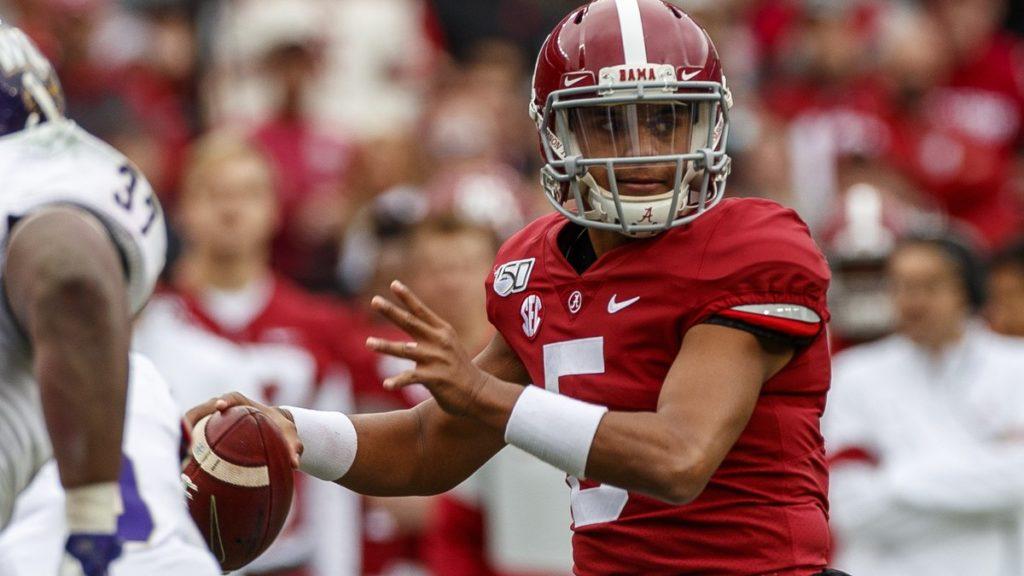 Alabama QB Taulia Tagovailoa in NCAA transfer portal, reports say